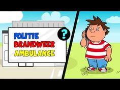 * Hoe 112 bellen - (filmpje) Ambulance, Family Guy, Education, Guys, Youtube, Fictional Characters, Boyfriends, Teaching, Boys