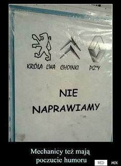 Nie naprawiamy Scary Funny, Wtf Funny, Hilarious, Words Of Wisdom Quotes, Some Quotes, Polish Memes, Weekend Humor, Funny Mems, Happy Photos