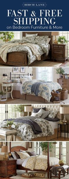 Shop Bedroom at birchlane.com! Sign up to find out more about FREE SHIPPING on all orders over $49!