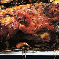 Keep yourself warm and your belly satisfied with this delicious slow cooker recipe. Donna Hay's slow roasted lamb shoulder is the perfect winter dinner.