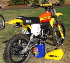 1978 Suzuki RM125 - Moto-X Fox Works Bike