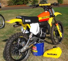 1978 Suzuki RM125 - Moto-X Fox Works Bike