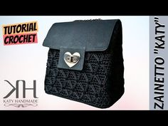 "Tutorial crochet backpack 3 in 1 ""Katy"" 