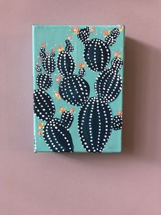Diy canvas art 360499145168037817 - prickles – acrylic cactus on canvas Source by barroisv Small Canvas Paintings, Small Canvas Art, Mini Canvas Art, Mini Paintings, Diy Canvas, Canvas Ideas, Canvas Painting Quotes, Cactus Painting, Cactus Art