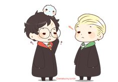 """Damnit, Potter."""", lillyleaf101snitch: Drarry by Cremebunny..."""