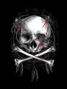 Spider Nest by Skull of Rock on Behance
