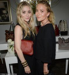 Ashley Olsen and Mary-Kate Olsen  (July 2013)