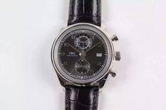IWC Portuguese SS/LE Black Dial 42mm Cal.89361