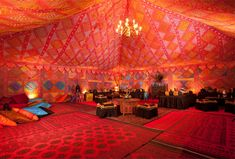 Moroccan tent