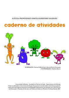 Caderno de atividades sobre Nutrição Infantil