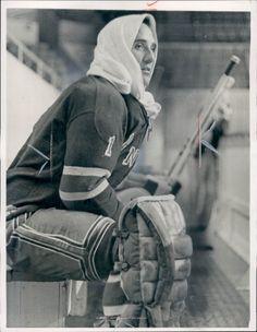 Jacques Plante, c. Hockey Goalie, Hockey Teams, Hockey Players, Ice Hockey, New York Rangers, Rangers Team, Hockey Girls, Hockey Mom, Hockey Stuff
