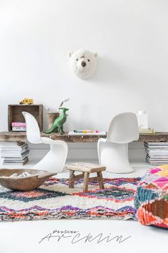 El Ramla Hamra carpets & poufs for the Kids rooms