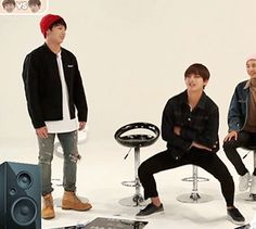 I feel like Jungkook is starring a little too much at him ♥~VKook~♥
