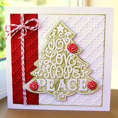 Kath's Blog......diary of the everyday life of a crafter: Crafts Beautiful Christmas Cards