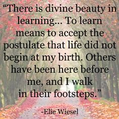 Inspirational Education Quote - Elie Wiesel - Statigram – Instagram webviewer
