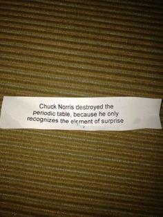 Chuck Norris = Epic