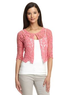lace cropped cardigan | WetSeal Crop Lace Cardigan Black Sold Out ...