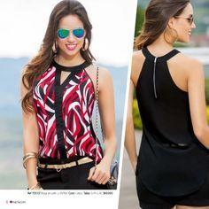 Ja estou comprando tecido e td mais pra mandar fazer uma pra mim!! Amei o modelo da blusa