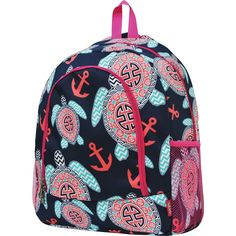 Sea Turtle Anchor Print NGIL School Backpack >>> You can get additional details at the image link.