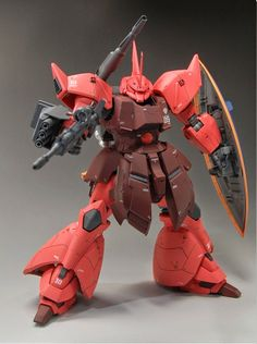MG 1/100 Gelgoog Cannon Custom Build - Gundam Kits Collection News and Reviews sweet a$$ custom