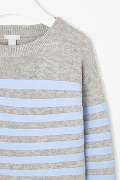 COS Raised stripe jumper