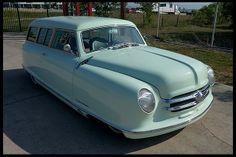 "Here's an original ""woody"" 1952 Nash Rambler  LT1, Automatic"