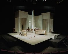 An Enemy of the People. National Arts Centre Theatre. Scenic design by Sue LePage. 2001