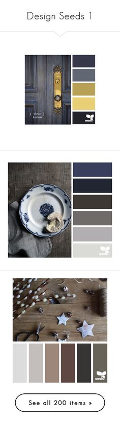 """""""Design Seeds 1"""" by morningstar1399 ❤ liked on Polyvore featuring colors, design seeds, backgrounds, color palettes, colours, seeds, filler, images, colores and палитры"""