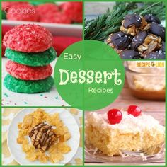15 Easy Dessert Recipes that ANYONE Can Make