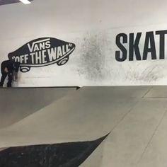 Flip in and flip out... of a wall dance: @aaronjawshomoki at the @transworldskate facility : @milesgizmo via @tonyhawk via http://shralpin.com