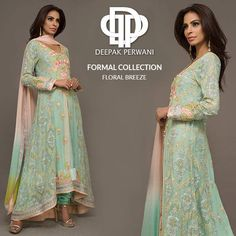 Deepak Perwani Formal Wear Collection for Winter 2016