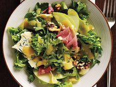 Fall Salad with Apples, Walnuts, and Stilton