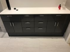 Bathrooms, Dresser, Kitchen Cabinets, Furniture, Home Decor, Powder Room, Decoration Home, Bathroom, Room Decor