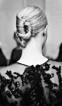 Backstage Elie Saab Haute Couture Spring 2013