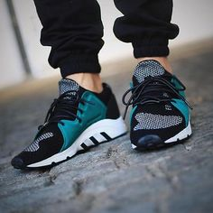 """Adidas Equipment OG """"Consortium Statement OG"""" - Women's style: Patterns of sustainability Dope Fashion, Sneakers Fashion, Runway Fashion, Yeezy, Streetwear, Sneak Attack, Sports Shoes, Classic Looks, Swagg"""