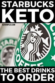 You will love these Keto Starbucks ideas for your Ketogenic Diet. These are the top 10 Starbucks Drinks you can get on your Ketogenic Diet that will help you stay in ketosis and lose fat fast. These healthy, gluten free, and easy low carb Keto Starbucks orders that include Keto Pink Drink, Keto Passion Tango Iced Tea, Keto Chai Tea Latte, build your own and lots of other fun ideas. #keto #lowcarb #lchf #highfat #ketostarbucks | Olivia Wyles | Keto Lifestyle Guide | Low Carb Recipes