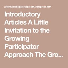 Culture definition edu invitation to languages and culture 1 introductory articles a little invitation to the growing participator approach the growing participator approach gpa stopboris Image collections