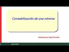 ( 8 ) contabilización de una nómina - YouTube