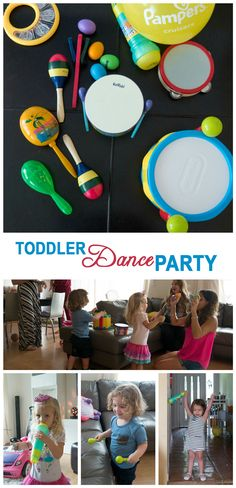 Toddler Dance Party Plan idea