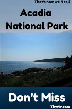 Acadia National Park is a jewel in the National Park system. There is much to do and worth the trip. New Hampshire Attractions, Virginia Attractions, Acadia National Park, National Parks, Amazing Destinations, Travel Destinations, South Dakota Travel, North Dakota, Brazil Travel