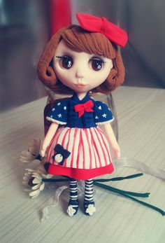 Handmade Clay Doll  •  Free tutorial with pictures on how to mold a clay character in 6 steps