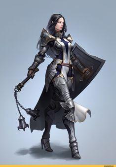 art девушка,красивые картинки,art,арт,Fantasy,Fantasy art,Crusader,Seok Jeon,Воины (Fantasy),Воины(Fantasy)