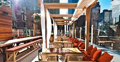 7 Gorgeous NYC Rooftops You Need to Sip a Cocktail On via @PureWow