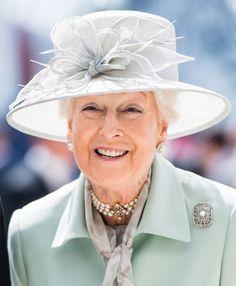 Princess Alexandra attends the Epsom Derby at Epsom Racecourse on June 2019 in Epsom, England. Duchess Of Cornwall, Duchess Of Cambridge, Crown Princess Mary, Princess Diana, Rachel Trevor Morgan, Epsom Derby, Queen Elizabeth Ii