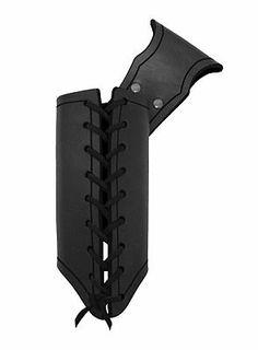 Einfacher Waffenhalter schwarz