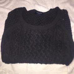 Dark blue sweater AE New American Eagle Outfitters Sweaters