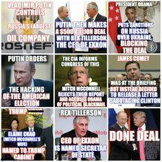 A Timeline of Trump/GOP Corruption, Treason and Fuckery!! #trumpstoleit