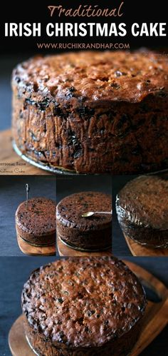An amazingly delicious, boozy fruit cake that can be a showstopper for your Christmas party! : An amazingly delicious, boozy fruit cake that can be a showstopper for your Christmas party! Food Cakes, Cupcake Cakes, Cupcakes, Fruit Cakes, Christmas Cooking, Christmas Desserts, Christmas Fruit Cake Recipe, Christmas Fruitcake, Irish Fruit Cake Recipe