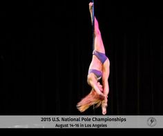 Pole Sport Organization U.S. Nationals is August 14-16, coming for the first time to Los Angeles! Tickets go on sale on April 6 at www.PoleSportOrg.com #PSO2015 #BadKittyPride