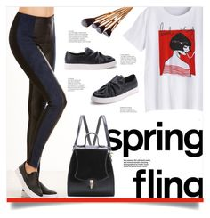 """""""Little Thing"""" by mahafromkailash ❤ liked on Polyvore featuring casual, bow, Graphic and shein"""